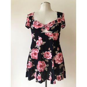 F21 Floral Mini Dress